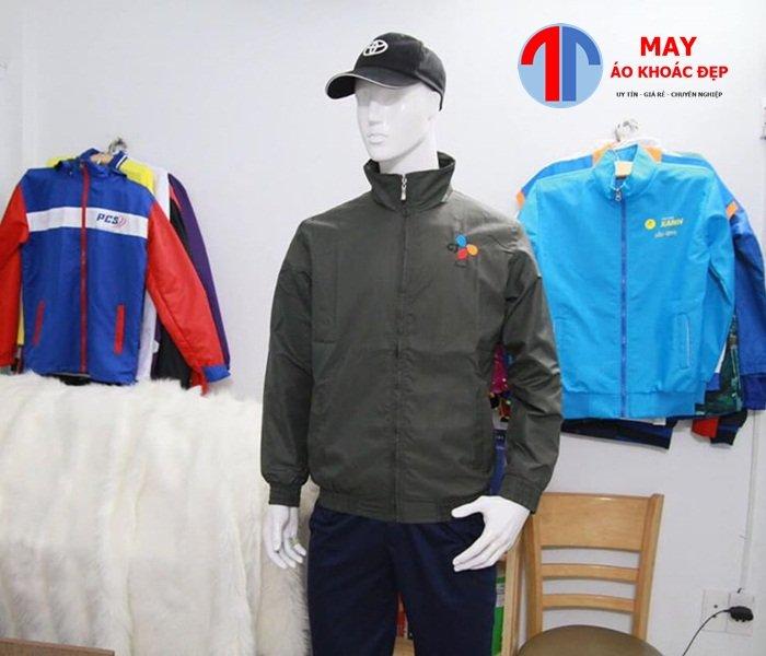 xưởng may áo khoác từ thiện