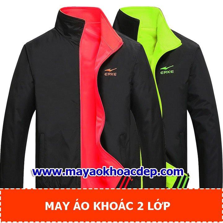 may áo khoác đơn giản